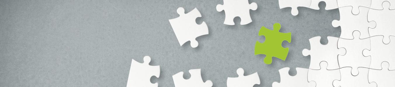 Puzzlesteine Symbol Leistungsspektrum